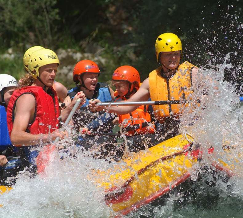 Rafting and Canyoning in the holiday region Katschberg